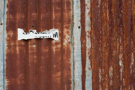 brushed steel: Rusty corrugated metal wall ,rusty Zinc grunge style background