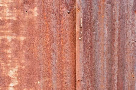 blue metallic background: Rusty corrugated metal wall ,rusty Zinc grunge style background