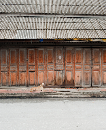 old wooden houses Stock Photo