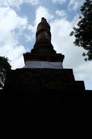 chang: Wat Kalothai Historical Park in Kamphaeng Phet, Thailand (a part of the UNESCO World Heritage Site Historic Town of Sukhothai and Associated Historic Towns)