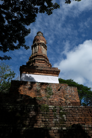 Wat Kalothai Historical Park in Kamphaeng Phet, Thailand (a part of the UNESCO World Heritage Site Historic Town of Sukhothai and Associated Historic Towns)