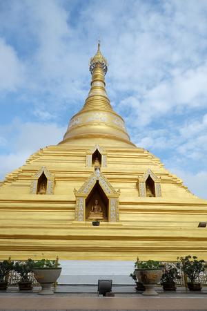 archaeological: Wat Phra Boromma That Nakhon Chum Kamphaeng Phet, Thailand