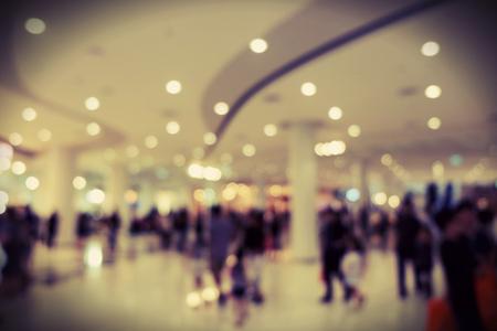 supermarket: Supermarket blurred background