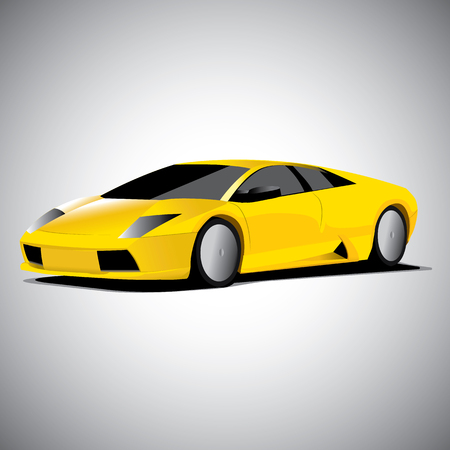 Realistic car vector illustration