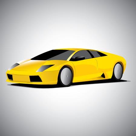 Realistic car vector illustration