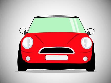 vector classic car. Vector Illustration Vektoros illusztráció