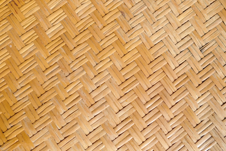 Rattan texture, handcraft bamboo weaving texture background. Stock Photo