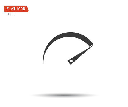 Performance measurement. Icon Vector, logo illustration