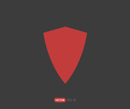 logo security company. vector shield for protection, illustration