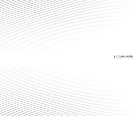 Abstract  grey white waves and lines pattern for your ideas, template background texture 일러스트