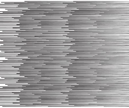 Speed lines Flying particles Seamless pattern, Fight stamp Manga graphic texture, Comic book speed horizontal lines on white background