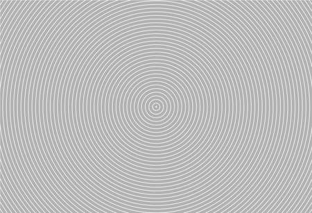 Abstract circle vector background. Modern graphic template. Circles going to the center. Monochrome graphic.