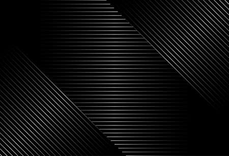 abstract black background with diagonal lines, Gradient vector retro line pattern design. Monochrome graphic.