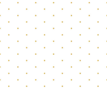 Gold polka dots pattern, colorful holiday background - vector abstract background