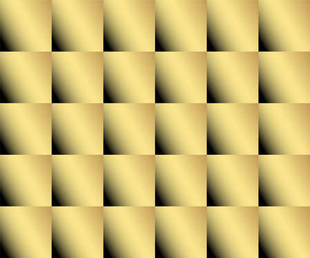 Gold color abstract squares background, web design, greeting card, Happy New Year and christmas background,  vector illustration