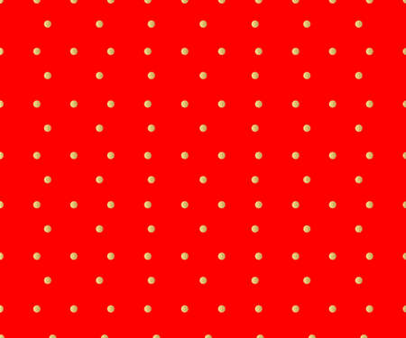 Vintage polka dots red pattern greeting card, New Year background and christmas background. vector abstract background