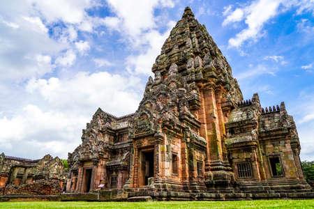 Phanom Rung Historical Park is Castle Rock old Architecture at Buriram Province,Thailand Foto de archivo