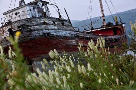 Abandon ship run aground