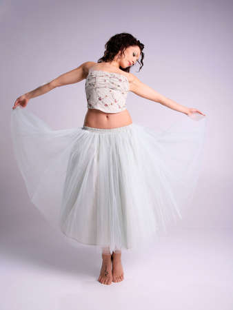 Beautiful Ballerina Woman