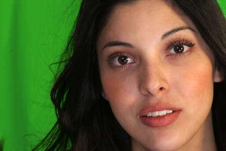 美しいヒスパニック系女性
