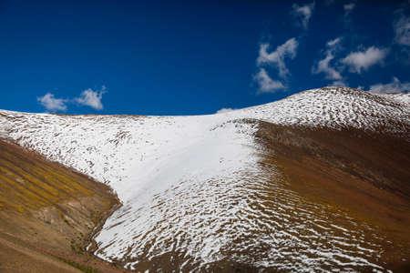 snow texture: beautiful snow texture on ground