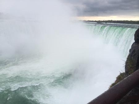 niagara falls: Niagara Falls, Ontario Stock Photo
