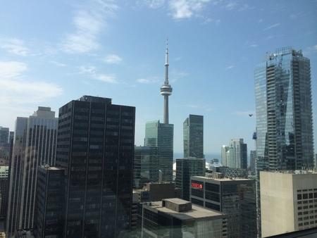building cn tower: Toronto, Ontario Canada