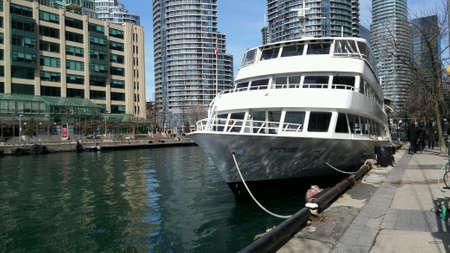 building cn tower: Toronto Harbour
