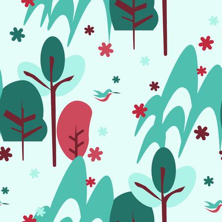 산 나무 패턴입니다.