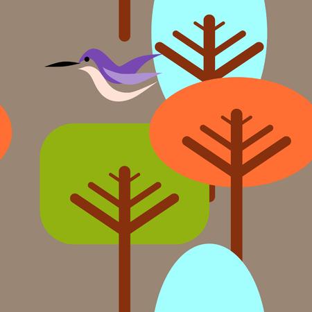 Nature Repeat Pattern Vector