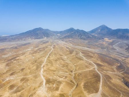 aerial views of the island of fuerteventura,canary islands, spain Reklamní fotografie