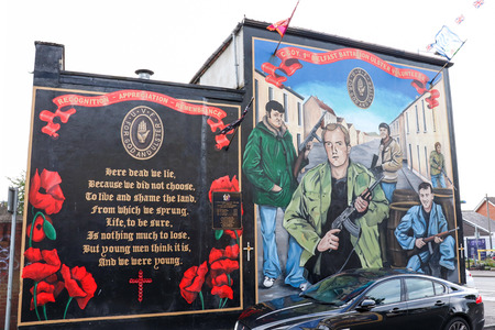 Mural Belfast Stock Photo - 99672153
