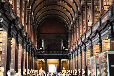 Long Room Trinity College Editorial