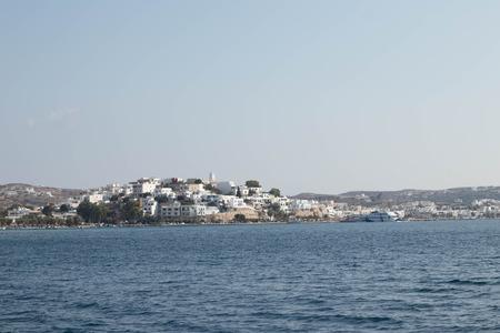 Adamas Coastline, Milos, Greece