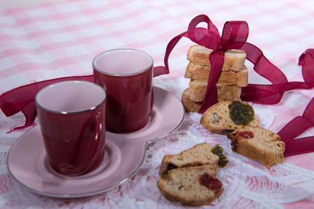 tea and biscuits: tea biscuits