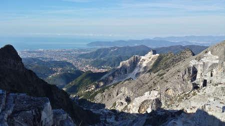 quarries: White Marble Quarries of Carrara