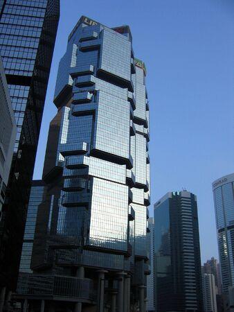 quartier g�n�ral: Lippo construction � Hong Kong Banque d'images