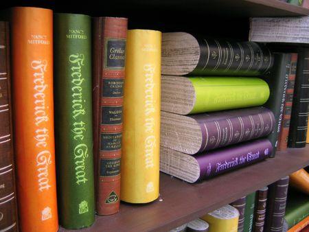 annals: Antique Books close up