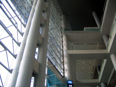Interior structure of Hong Kong Convention and Exhibition Centre photo