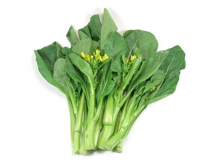 sum: Choy sum, a kind of chinese vegetable in isolated background