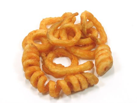 twister: Twister fries in isolated white