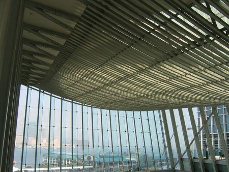 Architecture d'int�rieur structure de la SFI Mall � Hong Kong