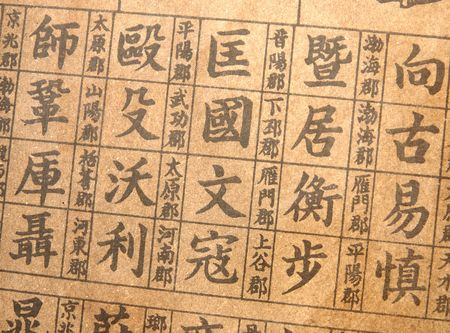 almanac: Background of chinese almanac
