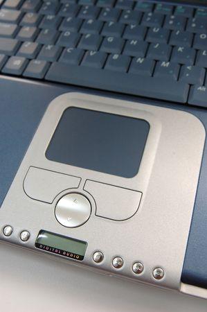 Laptop focus on the multimedia keys Stock Photo - 598335
