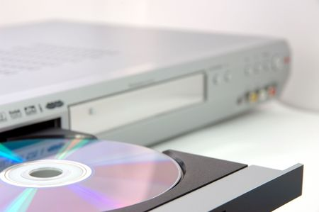 dvdr: Dvd recorder focus on the dvd disc