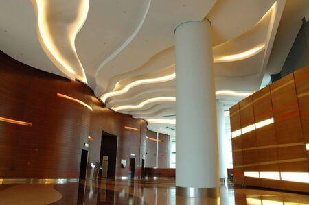 Architectuur interieur van een moderne zakelijke gebouw