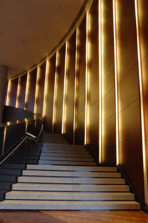 Modern escalier dans un immeuble de bureaux