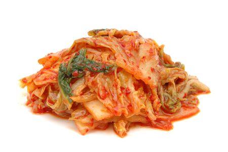 Kimchi isol�es sur fond blanc