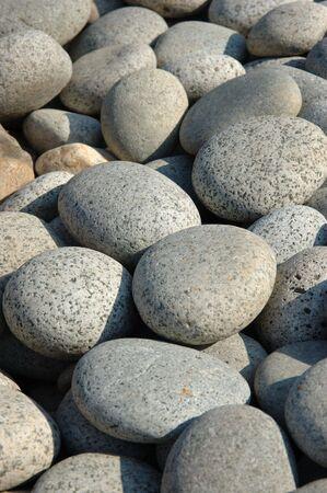 cobble: Primo piano di pietre affastellate  Archivio Fotografico