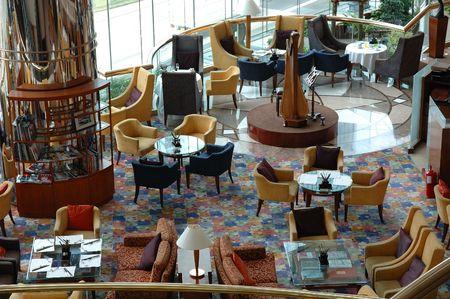 boutique hotel: Interior de un modelo de restaurante de hotel Foto de archivo